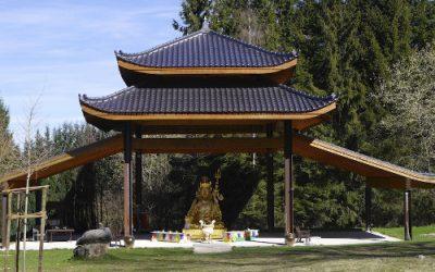 Unsere Bonding-Reise – Buddhistisches Kloster im Odenwald